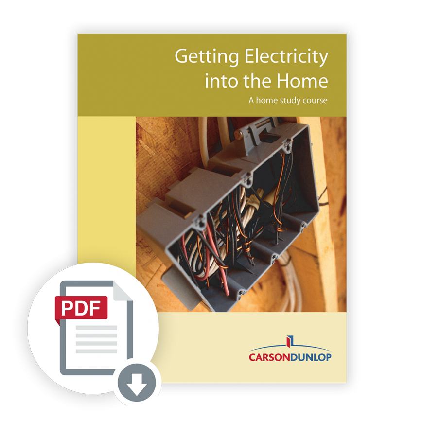 Getting Electricity into The Home course