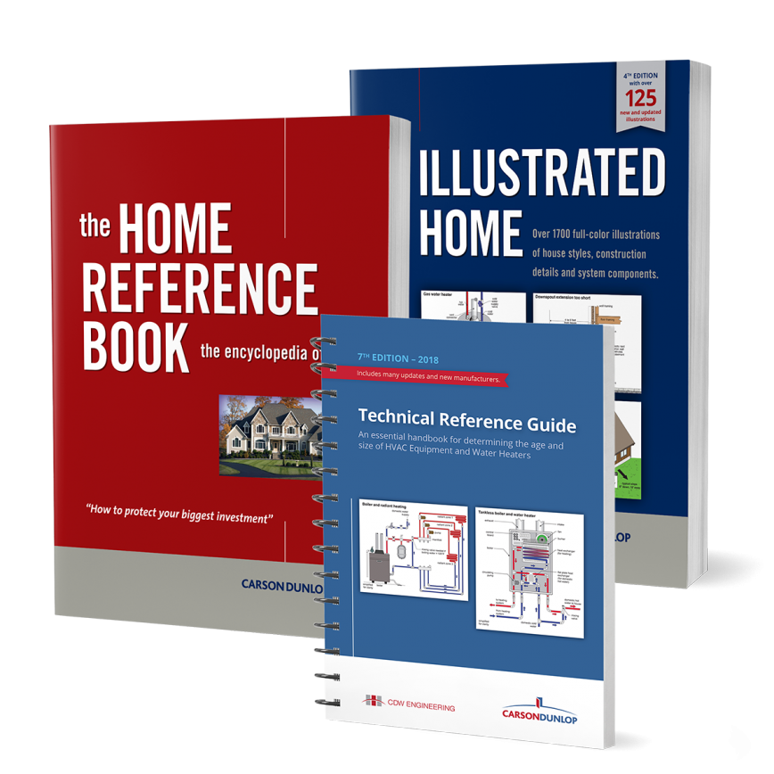 Special Offer - Home Inspector 3 Book Bundle