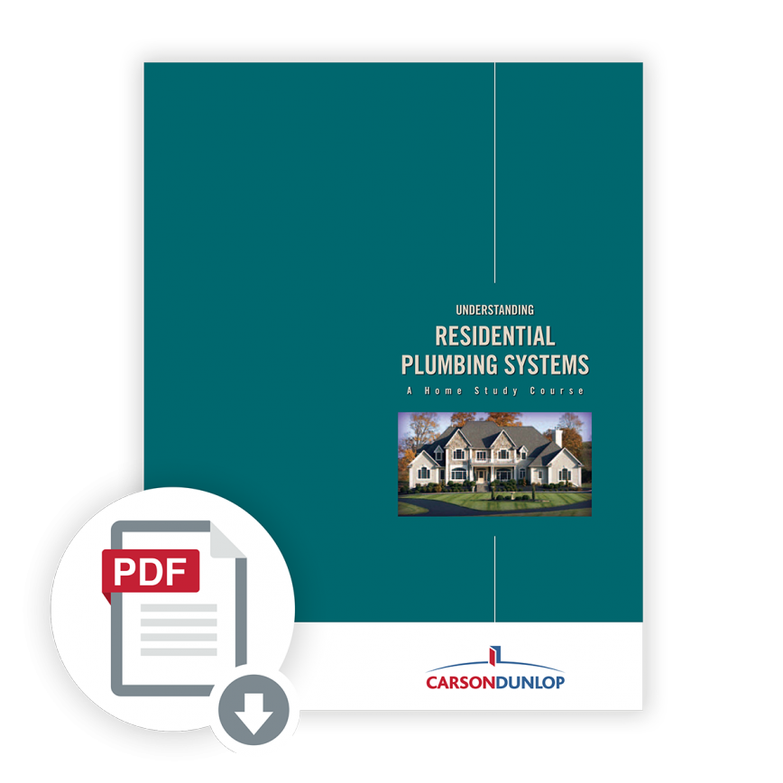 Residential Plumbing Systems course