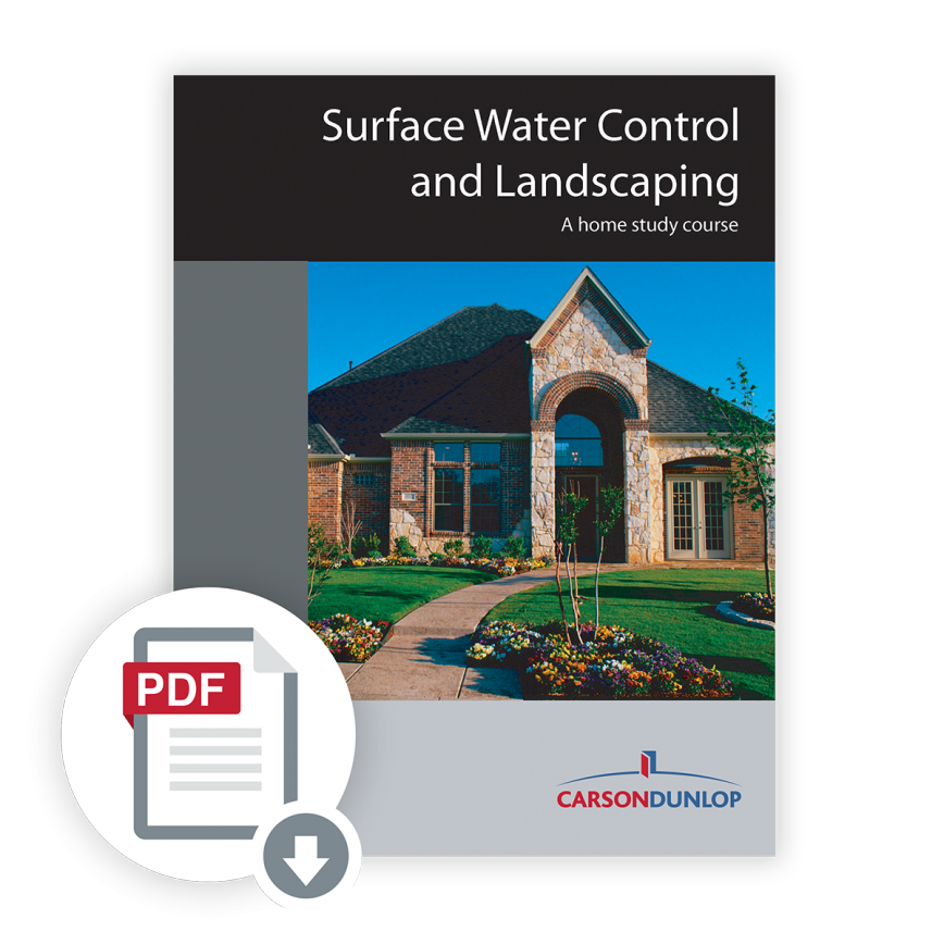 Surface Water Control and Landscaping Course