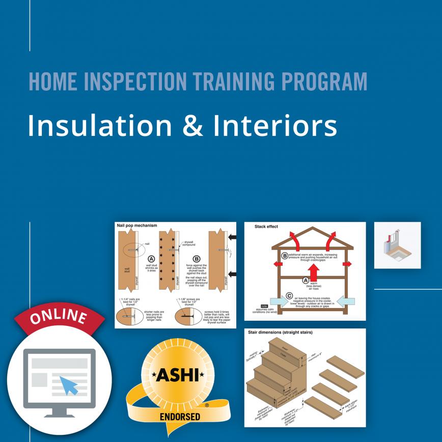 Insulation & Interiors Online Course