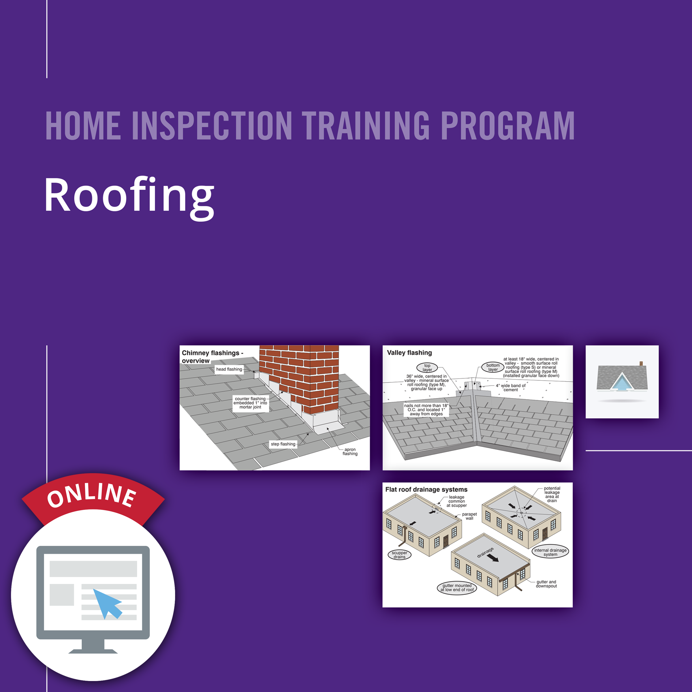 Roofing Online Course   Carson Dunlop Store