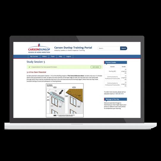 Home Inspection Online Training Program