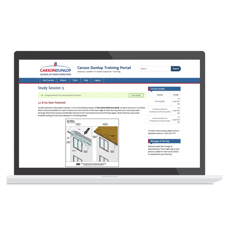 Home Inspection Online Training Program
